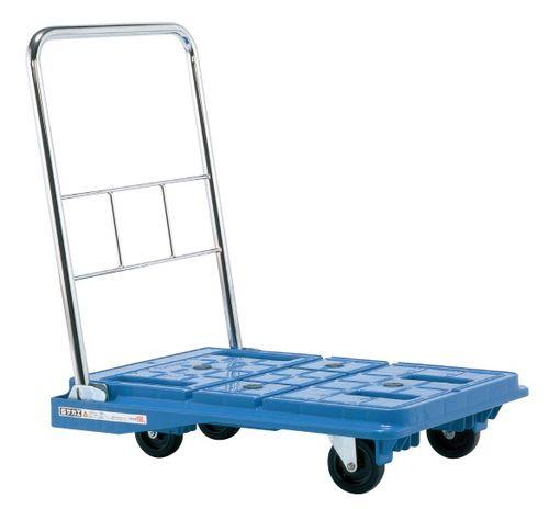 【送料無料】【メーカー取寄品(代引き決済時、要問合せ)】サカエ スタッキングハンドカー(品番:SPD-720B)『218962』荷役・運搬機器