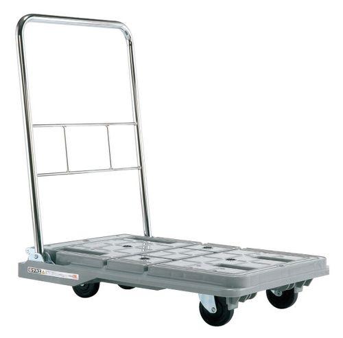 【送料無料】【メーカー取寄品(代引き決済時、要問合せ)】サカエ スタッキングハンドカー(品番:SPD-780C)『218975』荷役・運搬機器