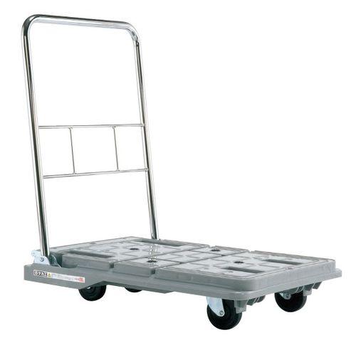 【送料無料】【メーカー取寄品(代引き決済時、要問合せ)】サカエ スタッキングハンドカー(品番:SPD-780S)『218966』荷役・運搬機器