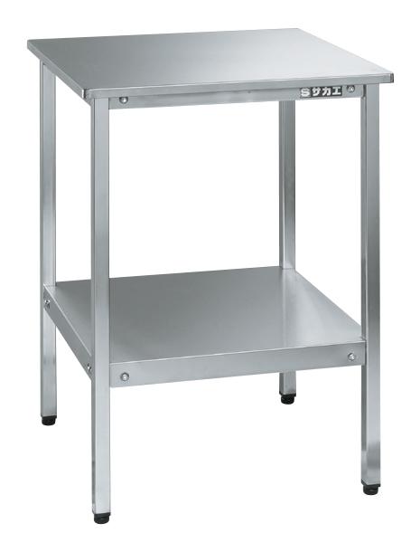 【送料無料】【メーカー取寄品(代引き決済時、要問合せ)】サカエ ステンレスサポートテーブル(品番:SRT-500SU4)『081061』ステンレス製品