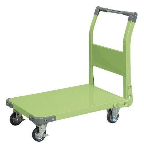 【送料無料】【メーカー取寄品(代引き決済時、要問合せ)】サカエ 特製四輪車(品番:TAN-33)『211247』荷役・運搬機器