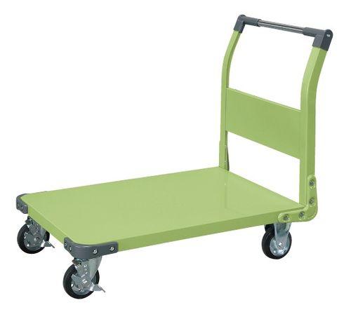【送料無料】【メーカー取寄品(代引き決済時、要問合せ)】サカエ 特製四輪車(品番:TAN-55)『211249』荷役・運搬機器