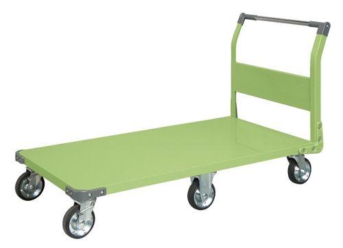 【送料無料】【メーカー取寄品(代引き決済時、要問合せ)】サカエ 特製六輪車クイックターン(品番:TQN-99)『211271』荷役・運搬機器