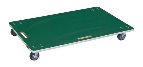 【送料無料】【メーカー取寄品(代引き決済時、要問合せ)】サカエ サカエリューム張り板台車(品番:YM-6FN)『211646』荷役・運搬機器