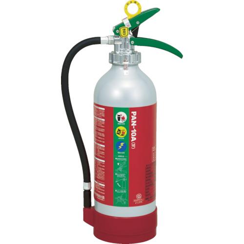 ドライケミカル ABC粉末消火器10型本体アルミ製(品番:PAN-10A4)『8594406』