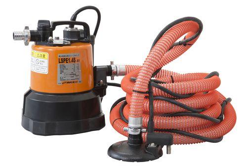【送料無料】ツルミポンプ 水中ポンプ 残水用自動型 50HZ(品番:LSPE1.4S-51)