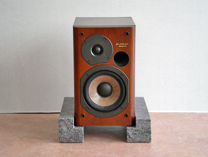 台座 インシュレーター オーディオボードマハマブルー 御影石【4個セット】