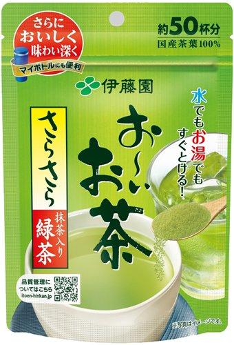 お~いお茶 さらさら抹茶入り緑茶40g(30個)【伊藤園】※送料無料(一部地域除く)