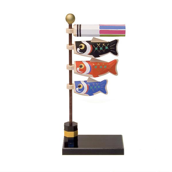 五月人形 南雲工房 伊予一刀彫 大空 鯉のぼり ≪GONK-540≫おしゃれ 一刀彫 五月人形 木製