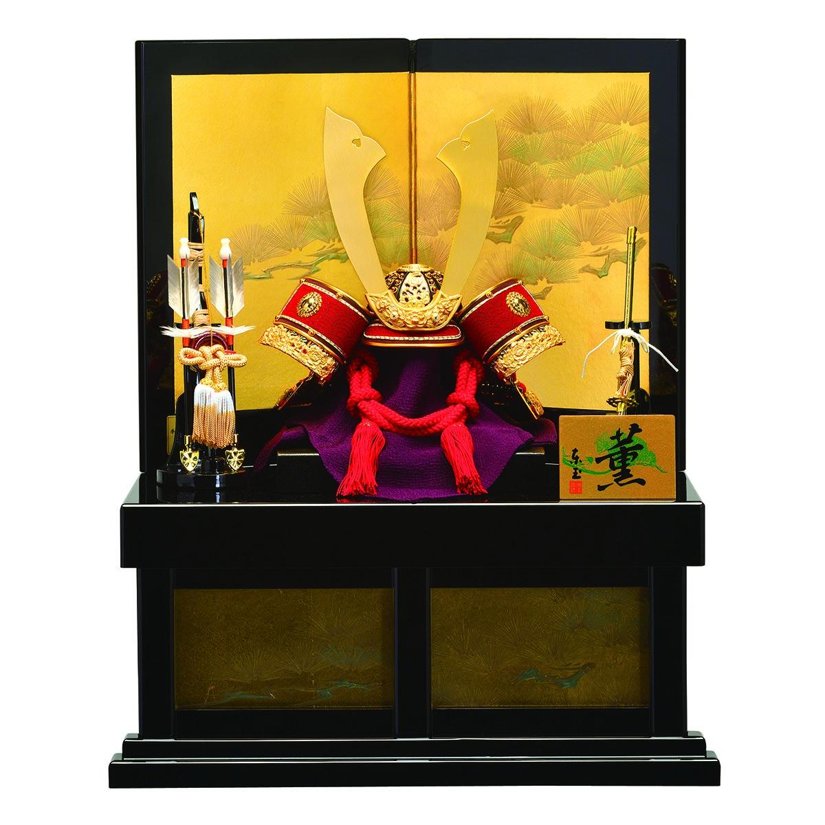 五月人形 東玉 兜収納飾り 明悠(めいゆう) ≪GOTG-52909≫コンパクト おしゃれ 兜収納飾り 兜 収納飾り 五月人形 [P10]