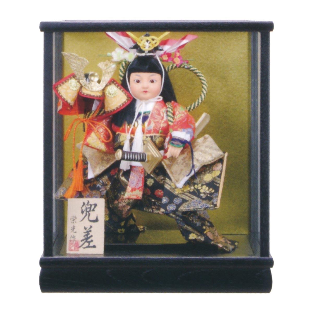 五月人形 ケース飾り 兜差 5号 ≪GOF-5740-62-001≫コンパクト おしゃれ ケース飾り ケース飾り 五月人形