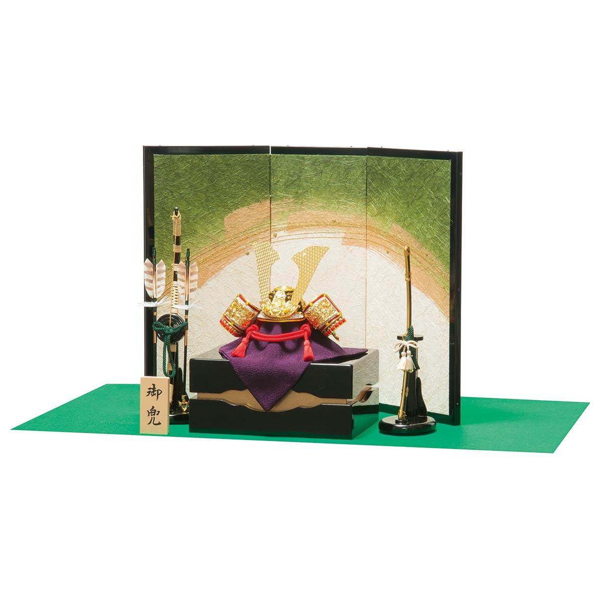五月人形 平安豊久 兜収納飾り 緑風 兜収納飾り ≪GOH-502318≫おしゃれ 兜収納飾り 兜 収納飾り 五月人形 [P10]