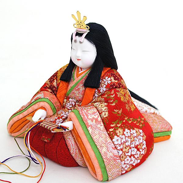 雛人形 真多呂 コンパクト 木目込み飾り 真多呂作 木目込み雛人形 瑞花雛11人飾り 雛人形 HNM-1354 (52)ひな人形 かわいい おしゃれ インテリア 雛 木目込人形飾り [P10]