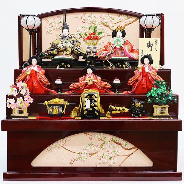 バーゲンで 雛人形 美光 コンパクト [P10] 三段収納飾り ワイン塗り収納飾り 五人揃い (引き出し式収納箱) 雛人形 美光 HNBK-KS3-261ひな人形 五人揃い かわいい 雛 コンパクト収納飾り [P10], 世界的に有名な:45b6df76 --- canoncity.azurewebsites.net