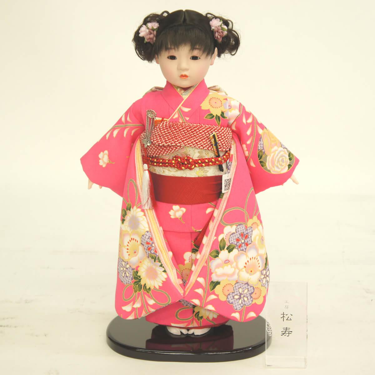 雛人形 松寿 市松人形 松寿作 市松人形 市松 ICMY-BA26012-41Gひな人形 かわいい おしゃれ インテリア
