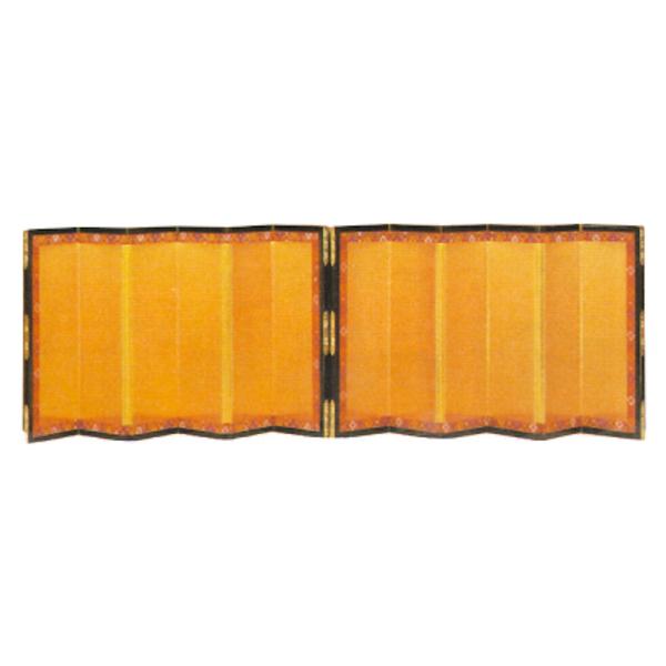金屏風 雛人形六曲箔押屏風 15号 HNBB-330351-15