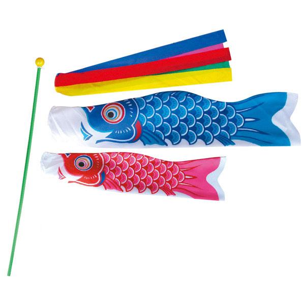 おもちゃ ミニ鯉 ミニ鯉(大)セット手さげバック 30個入り KOI-T-152-691おもちゃ ミニ こいのぼり 徳永鯉のぼり