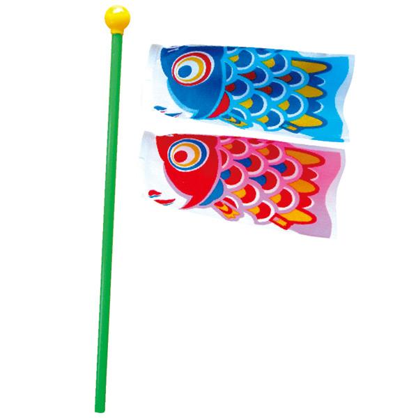 おもちゃ ミニ鯉 メダカセット 100個入り KOI-T-152-696おもちゃ ミニ こいのぼり 徳永鯉のぼり