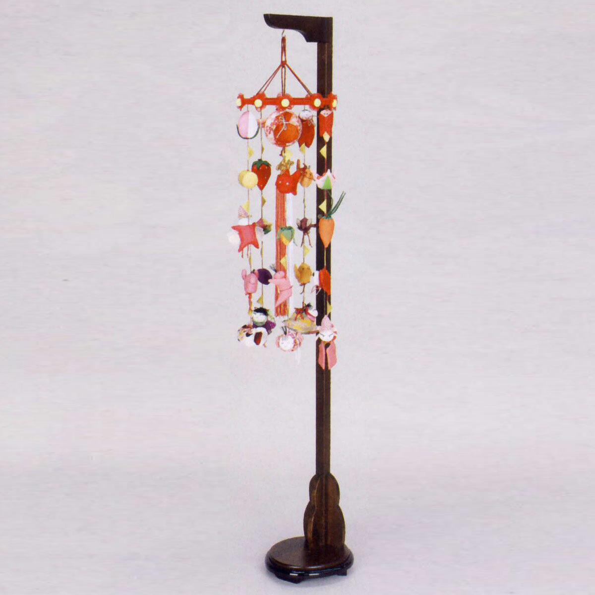 まり飾り 特小 吊り台付き TRS-F-3-9972HS送料無料 ※北海道 沖縄は除く つるし雛 吊るし飾り で 桃の節句 雛祭り ひな祭り 雛人形 のお祝いに