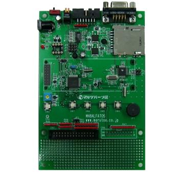 μALFAT-CHIP搭載H8マイコン評価ボード