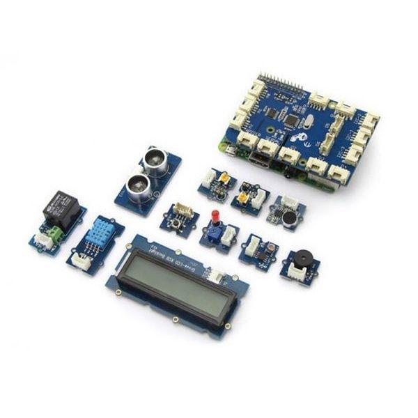 GrovePi+ Starter Kit for Raspberry Pi A+/B/B+/2/3 (CE certified)