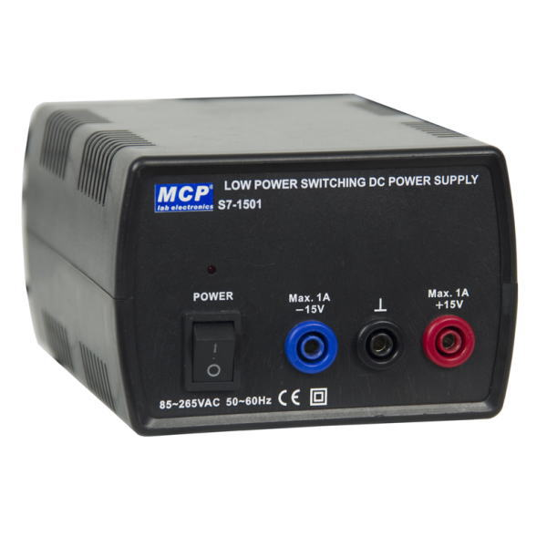 MCPJAPAN 直流安定化電源(±15V/1A) スイッチングレギュレーション方式【S7-1501】