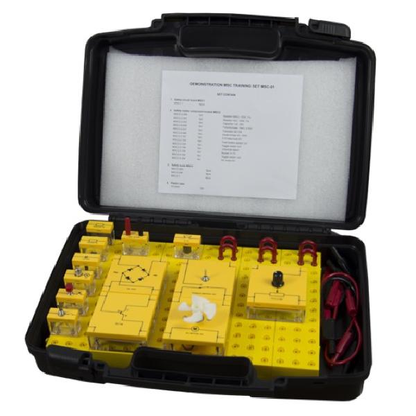 MCPJAPAN 学生実験向け 電気電子工学学習キット【MSC-01】