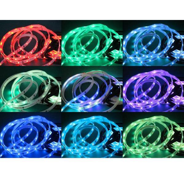 _ テープLED 300LED 防水 RGB-SP 5M 【LED-TP50-WP-RGBSP-5M】