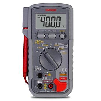 三和電気計器 デジタルマルチメーター データ処理(パソコン接続) 【PC-20】