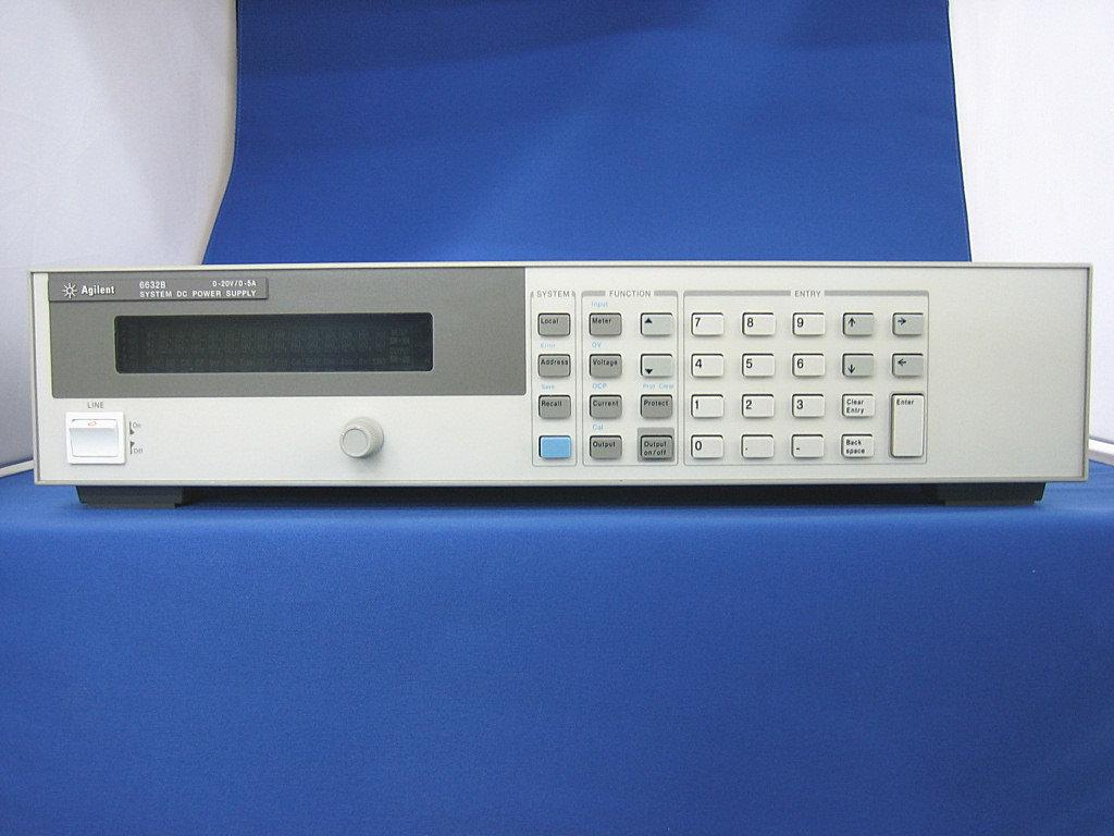 アジレント 100Wシステム電源(20V/5A) ※試験成績書付 【6632B(US37479321)】