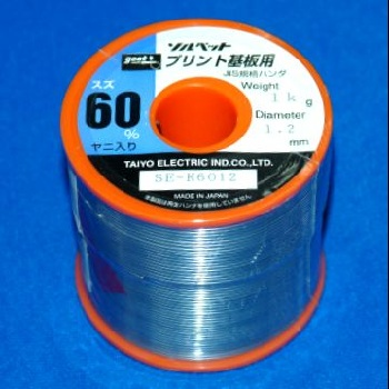 太洋電機産業 リール巻はんだ 【SE-K6012】