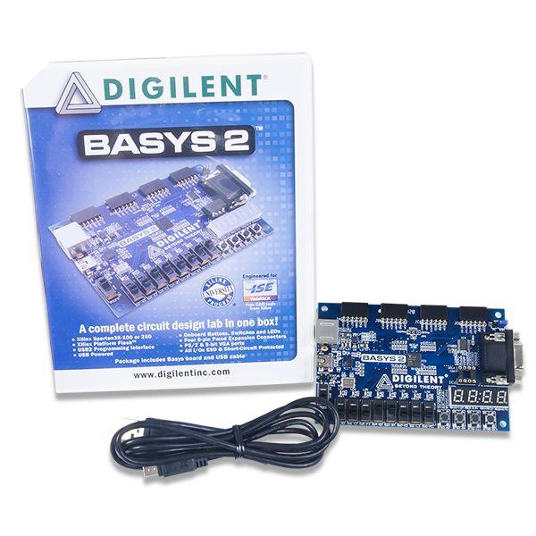 Digilent Basys2 Spartan-3E FPGA Board 【410-155P-KIT】