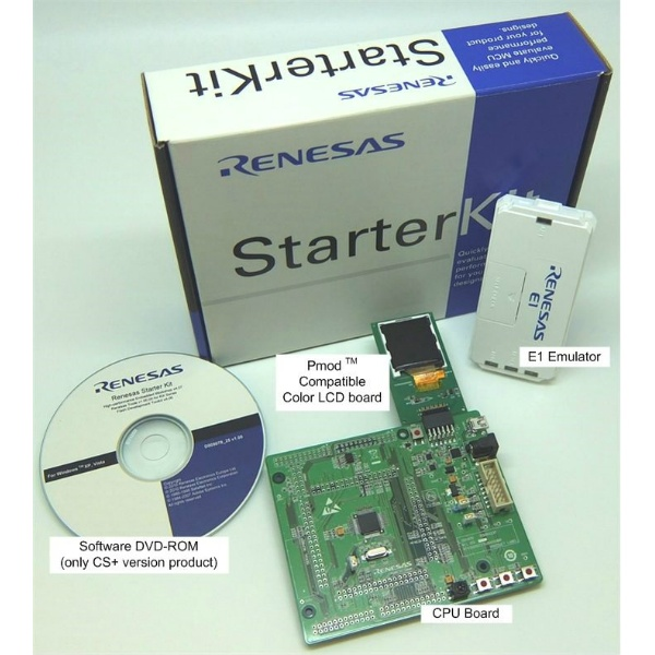 ルネサスエレクトロニクス Renesas Starter Kit for RX23T 【RTK500523TS00000BE】