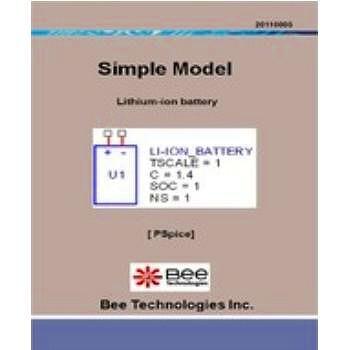 ビー・テクノロジー リチウムイオン電池モデル Pspice版 【SM-005】