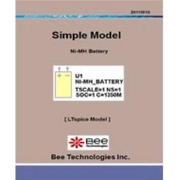 ビー・テクノロジー ニッケル水素電池モデル LTspice版 【SM-015】