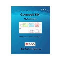 ビー・テクノロジー 降圧コンバータ(過渡解析モデル) 【Concept Kit 004】