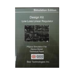 ビー・テクノロジー SPICE デザインキット 低損失リニアレギュレータ 【Design Kit 003】