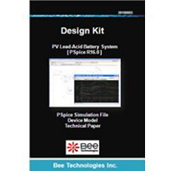ビー・テクノロジー SPICE デザインキット バッテリー回路(鉛蓄電池) 【Design Kit 012】