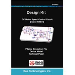 ビー・テクノロジー PSPICE版 デザインキット DCモータ制御回路 【Design Kit 014】