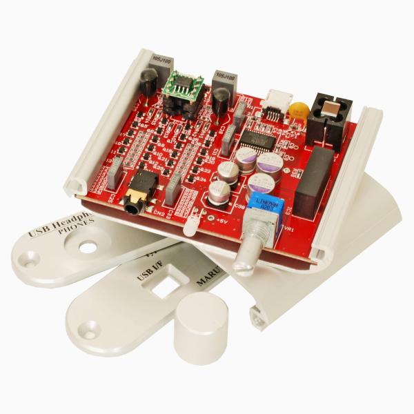マルツエレック USB-DAC内蔵ヘッドフォン・アンプキット(面実装済み) 【MHPA-PCM2705U(R2)-KIT】