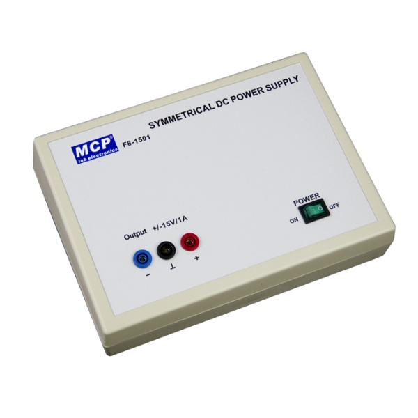 MCPJAPAN 実験用直流安定化電源(±15V/1A)【F8-1501】