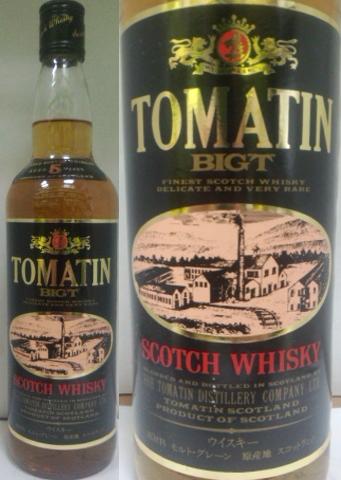 トマーチン BIG-T 5年 43度 750ml 古酒 オールドボトル 正規品