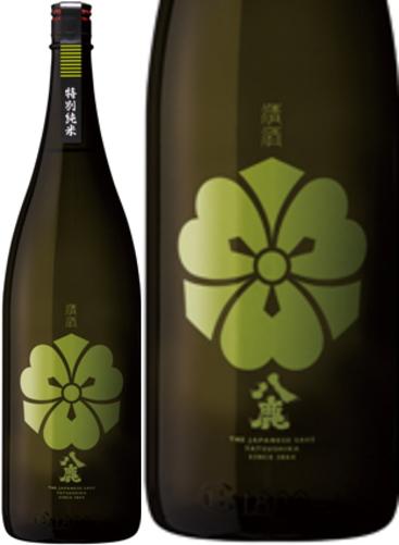 代引き不可 送料無料のお買い得!! 八鹿 特別純米(緑)1800ml×6本