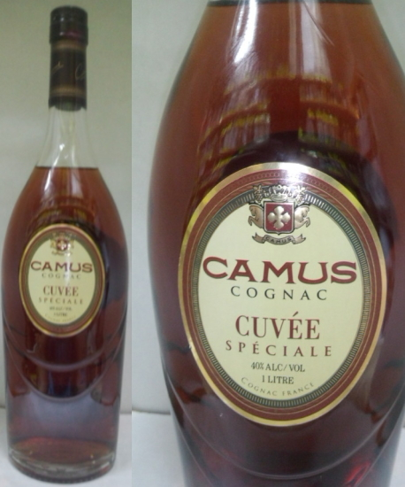 送料無料のお買い得!!(一部地域は送料がかかります。) レア物コニャック(古酒) カミュ・キュヴェスペシャル 40度 コニャック徳用1000ml 並行輸入品 箱無し