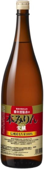 養命酒製造 家醸本みりん 1800ml×6本 ケースはお取寄せ品に付き4~5日かかることがあります。