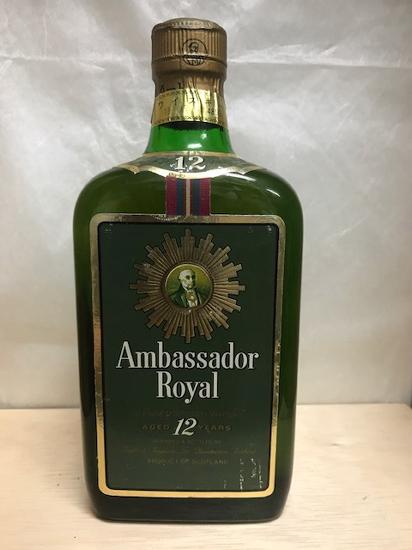 送料無料のお買い得!! 古酒 正規品 アンバサダー12年 43度 750ml