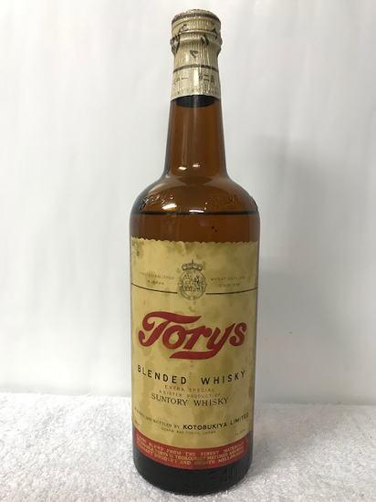 サントリーの創業前の寿屋時代の50年以上前の奇跡的な希少ボトルが入荷しました。 寿屋 トリス ブレンデッド ウイスキー第二級表記 37度 640ml