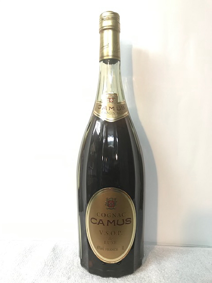 [全国送料無料のお買い得!!] 古酒オールドボトル希少レア1L コニャック カミュ V.S.O.P. デラックス de LUXE 40度 1L