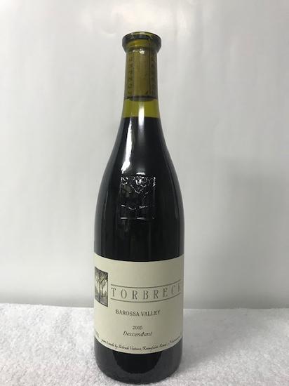 [最安値に挑戦中!!] 2005 トルブレック ディシェンダント 赤ワイン 辛口 フルボディ2005年 750ml