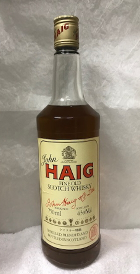 [全国送料無料のお買い得!!] 正規品 特級表記 ヘイグ(HAIG)ファイン オールド スコッチウイスキー 43度 750ml